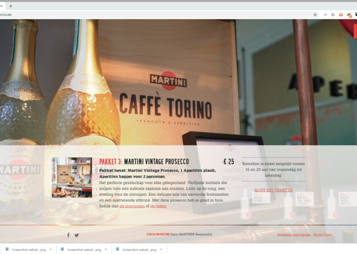 Online copywriting website Martini